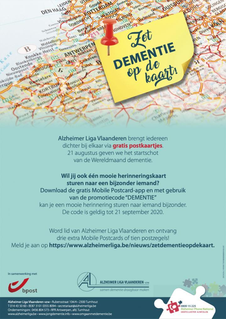 Zet demenite op de kaart